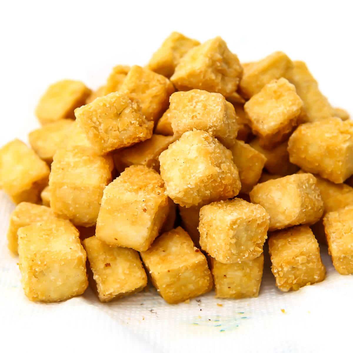 How to Make Crispy Fried Tofu